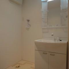 洗濯機置き場・洗面台